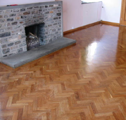 Parquet Floor Restoration Devon